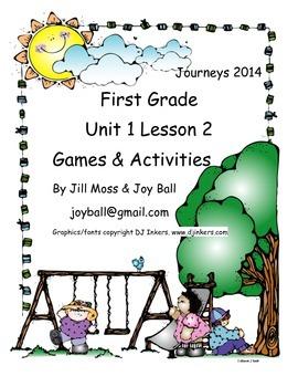 Journeys 2014 First Grade Unit 1 Bundle