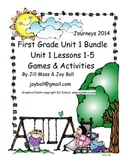 Journeys 2014/2017 First Grade Unit 1 Bundle