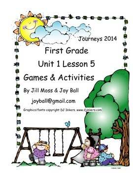 Journeys 2014/2017 First Grade Unit 1 Bundle