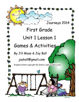 Journeys 2014 First Grade Unit 1 Lesson 1: What Is a Pal?