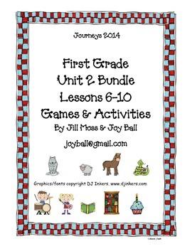 Journeys 2014 First Grade Unit 2 Bundle