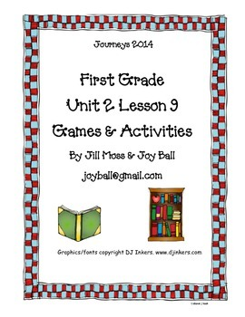 Journeys 2014/2017 First Grade Unit 2 Bundle