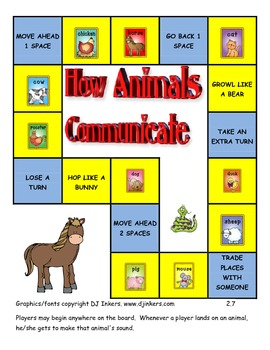 Journeys 2014/2017 First Grade Unit 2 Lesson 7: How Animals Communicate