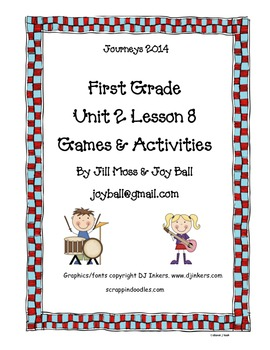Journeys 2014 First Grade Unit 2 Lesson 8: A Musical Day