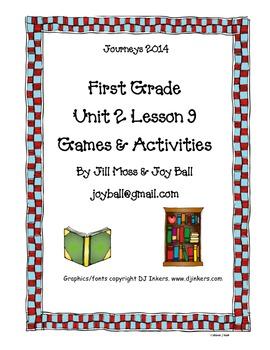 Journeys 2014/2017 First Grade Unit 2 Lesson 9: Dr. Seuss
