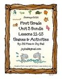 Journeys 2014/2017 First Grade Unit 3 Bundle