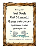 Journeys 2014/2017 First Grade Unit 3 Lesson 11: At Home In the Ocean