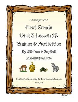 Journeys 2014/2017 First Grade Unit 3 Lesson 12: How Leopard Got His Spots