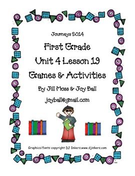 Journeys 2014/2017 First Grade Unit 4 Lesson 19: Thomas Rivera
