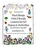 Journeys 2014/2017 First Grade Unit 5 Bundle