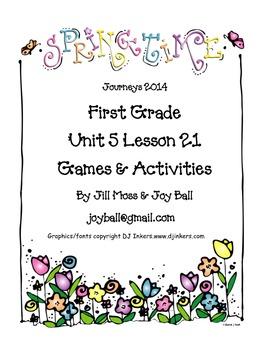 Journeys 2014 First Grade Unit 5 Lesson 21: The Garden