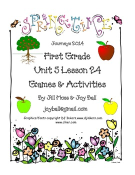 Journeys 2014/2017 First Grade Unit 5 Lesson 24: A Tree Is A Plant