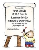 Journeys 2014/2017 First Grade Unit 6 Bundle