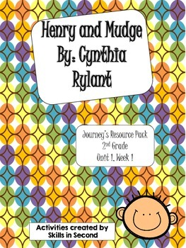 Journey's {2014} Henry and Mudge Literacy Centers