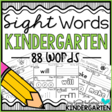 Journey into Reading {88 Sight Word Worksheets} Distance Learning