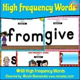 Journeys Supplemental Materials - Kindergarten High Frequency Words Posters