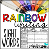 Journey into Reading with Rainbow Writing {88 Sight Words}