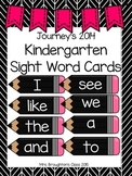 Journeys 2014 Kindergarten Sight Word Cards