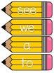 Journeys 2014 Kindergarten Sight Word Cards- Yellow
