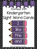 Journeys 2014 Kindergarten Sight Word Cards- Purple