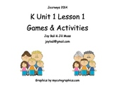 Journeys 2014/2017 Kindergarten Unit 1 Lesson 1: What Makes a Family?
