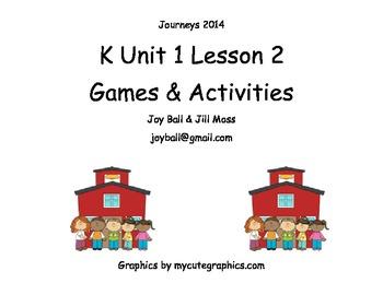 Journeys 2014 Kindergarten Unit 1 Lesson 2: How Do Dinosau
