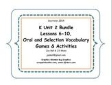 Journeys 2014/2017 Kindergarten Unit 2 Bundle
