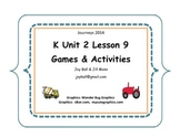 Journeys 2014/2017 Kindergarten Unit 2 Lesson 9: What Do Wheels Do All Day?