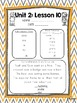 Journeys 2014 Kindergarten Unit 2 Resource Pack