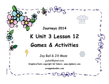 Journeys 2014/2017 Kindergarten Unit 3 Lesson 12: Snow