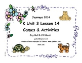 Journeys 2014/2017 Kindergarten Unit 3 Lesson 14: Turtle Splash!