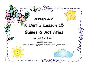 Journeys 2014/2017 Kindergarten Unit 3 Lesson 15: What a Beautiful Sky!