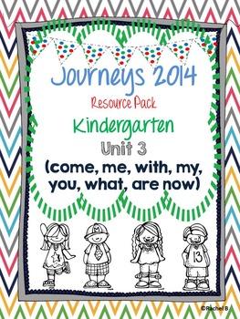 Journeys 2014 Kindergarten Unit 3 Resource Pack