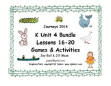 Journeys 2014/2017 Kindergarten Unit 4 Bundle