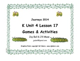 Journeys 2014/2017 Kindergarten Unit 4 Lesson 17: From Caterpillar to Butterfly