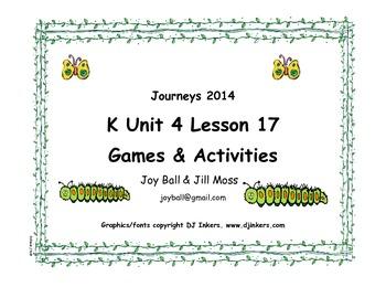 Journeys 2014 Kindergarten Unit 4 Lesson 17: From Caterpil