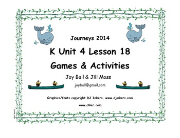Journeys 2014/2017 Kindergarten Unit 4 Lesson 18: Atlantic