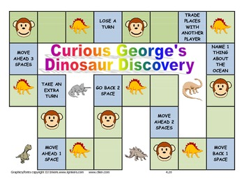 Journeys 2014 Kindergarten Unit 4 Lesson 20: Curious George's Dinosaur Discovery