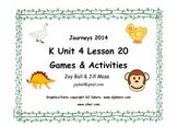 Journeys 2014/2017 Kindergarten Unit 4 Lesson 20: Curious