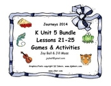 Journeys 2014/2017 Kindergarten Unit 5 Bundle