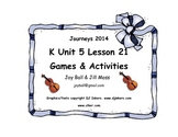 Journeys 2014/2017 Kindergarten Unit 5 Lesson 21: Zin! Zin! Zin! a Violin