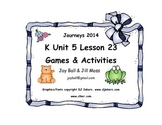 Journeys 2014/2017 Kindergarten Unit 5 Lesson 23: Zinnia's Flower Garden