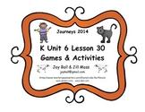 Journeys 2014/2017 Kindergarten Unit 6 Lesson 30: Miss Bindergarten Celebrates K
