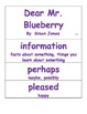Journeys 2014/2017 Oral and Selection Vocabulary Kindergarten Unit 4