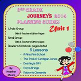 Journeys Planning Guide Unit 1 3rd Grade