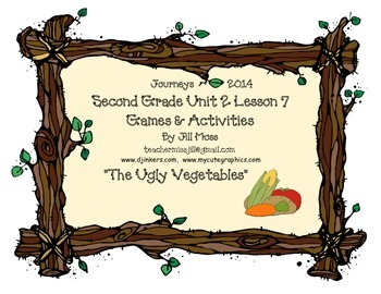 Journeys 2014/2017 Second Grade Unit 2 Lesson 7: The Ugly Vegetables