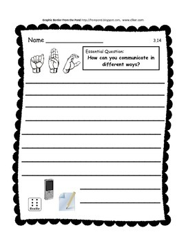 Journeys 2014 Second Grade Unit 3 Lesson 14 Activities: Helen Keller