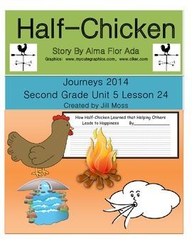 Journeys 2014 Second Grade Unit 5 Lesson 24:Half-Chicken