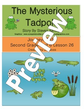 Journeys 2014/2017 Second Grade Unit 6 Lesson 26: The Mysterious Tadpole
