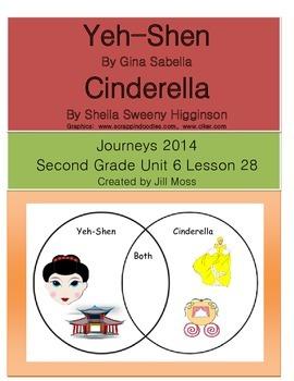 Journeys 2014 Second Grade Unit 6 Lesson 28: Yeh-Shen
